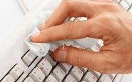 Очистка клавиатуры ноутбука в домашних условиях