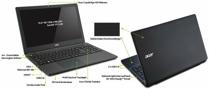 Acer Extensa 2509 обзор