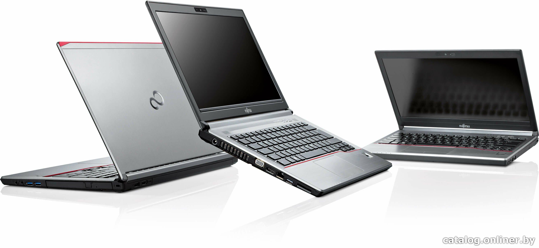 Fujitsu Lifebook E754 с разных планов
